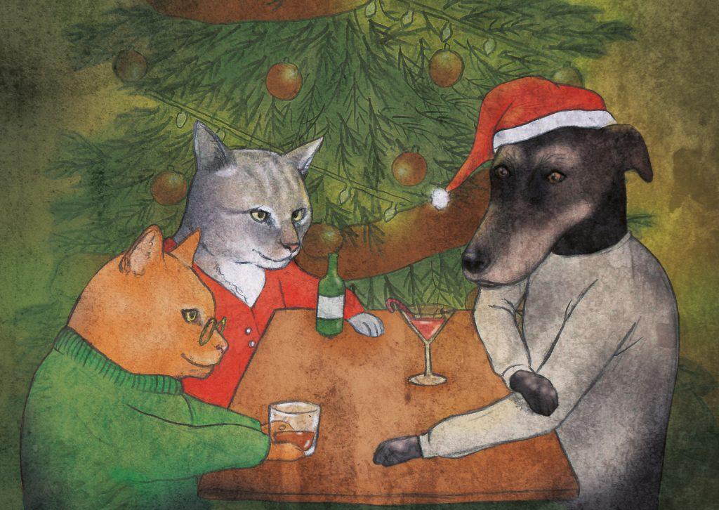 kerstkaartje 2017 web 1024x726 - Christmas Card 2017
