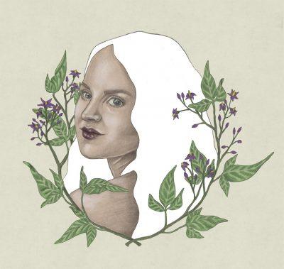 Portret Annelies Baaijens Zeeland Illustrator Kunst 1 400x379 - Portrets