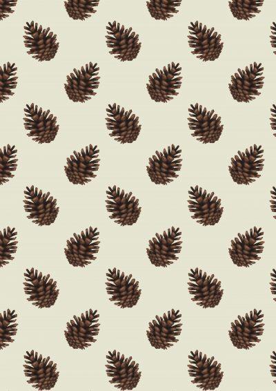 Dennenappels Annelies Baaijens Illustrator Zeeland 400x566 - Patterns