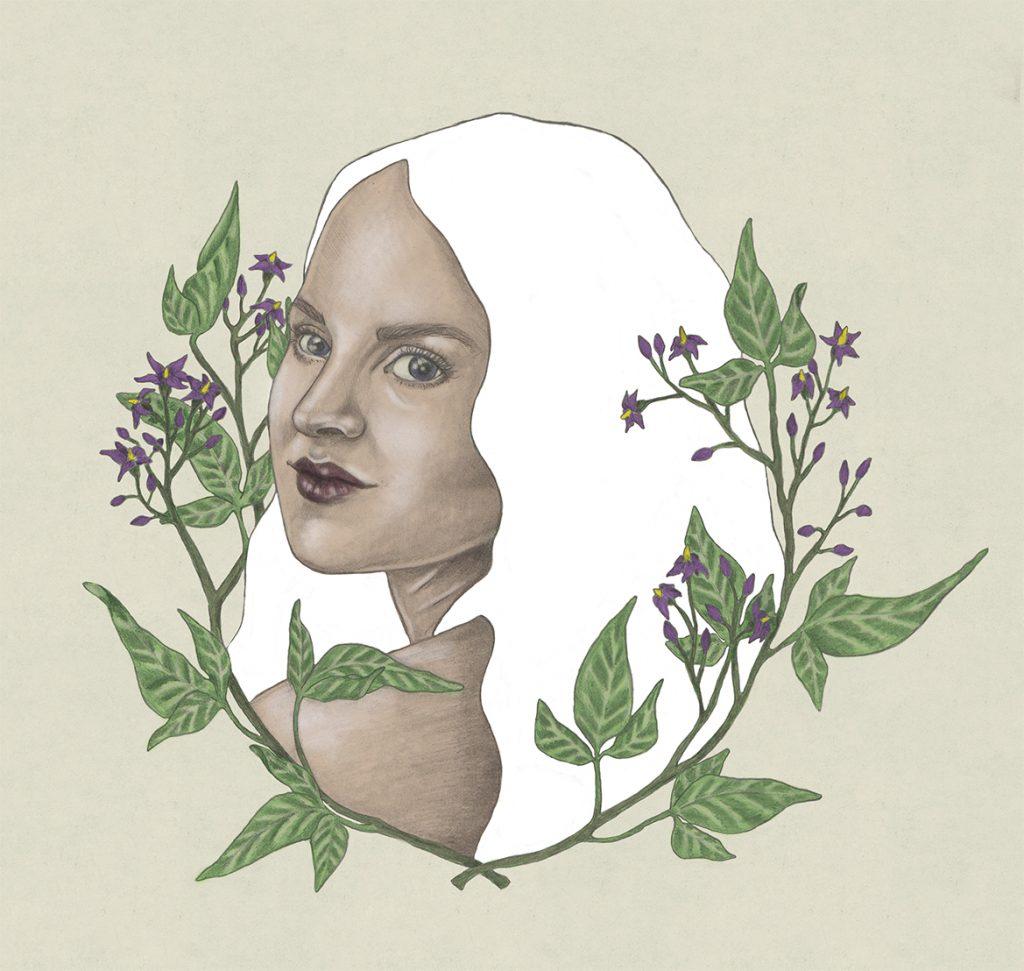 Portret Annelies Baaijens Zeeland Illustrator Kunst 1024x971 - Portrets